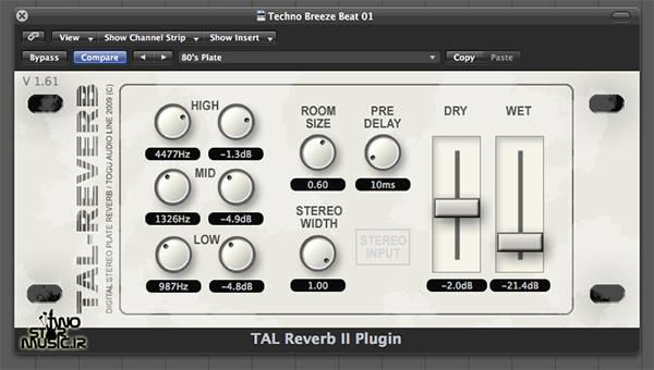دانلود پلاگین TAL Reverb 2