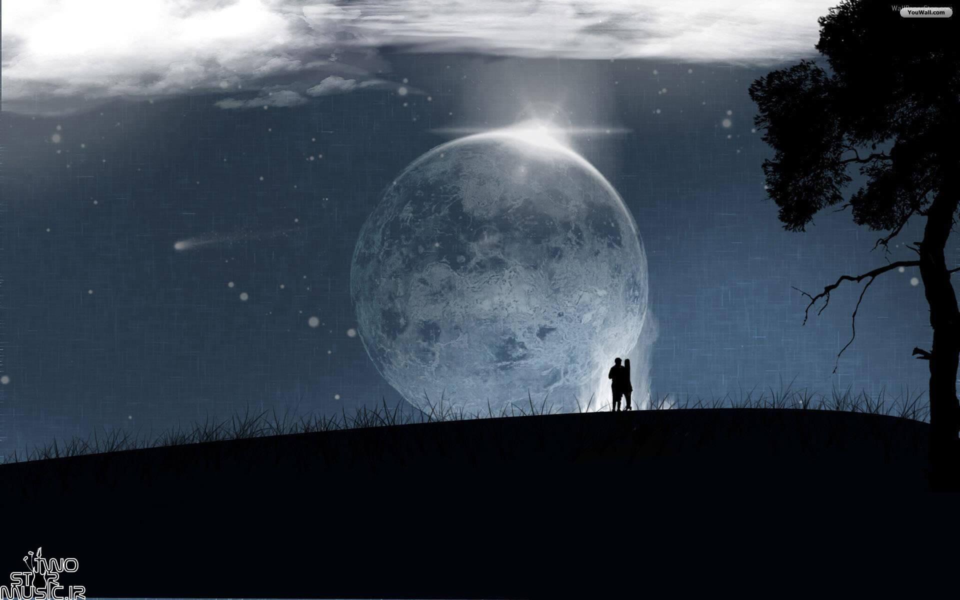 دانلود بیت اجتماعی به نام ماه تاریک